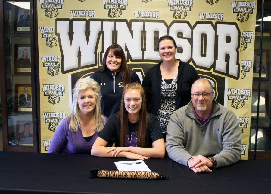 Addison Buscher is moving on to play volleyball  at Iowa Wesleyan University.