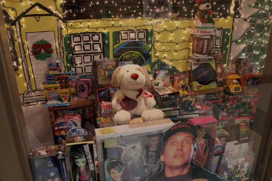Wayne Montgomery has led another successful toy drive.