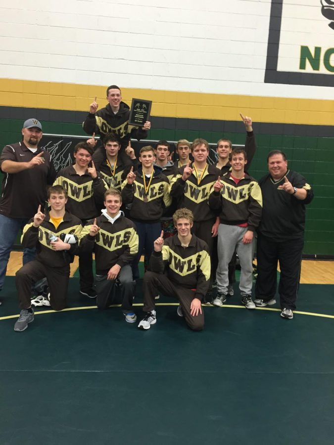 The wrestling team is currently 3-0 in dual meets this season.