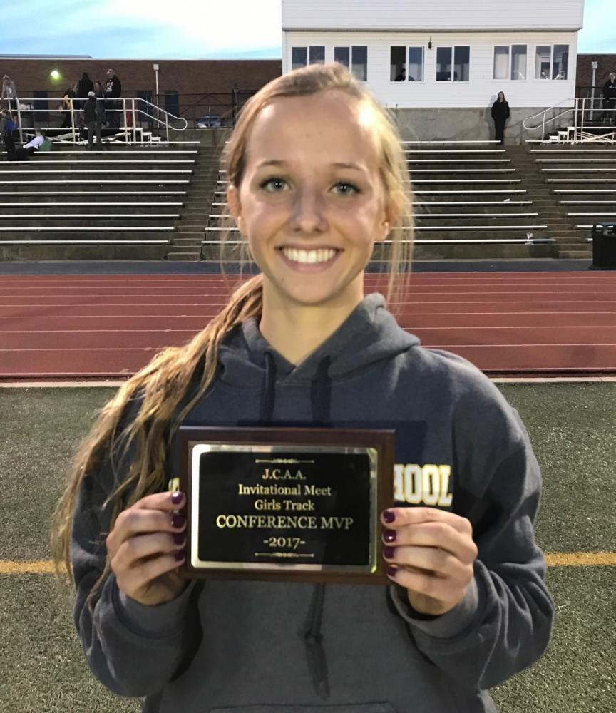Taylor Richey became the first Windsor track athlete to be named conference MVP since Brendan Campbell in 2013.