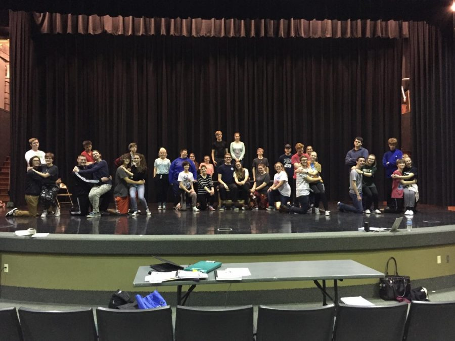 The musical will take place February 22-24.