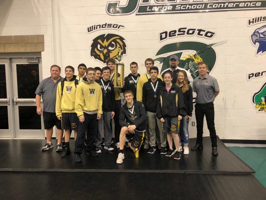 The Owls won the 20 team DeSoto tournament on Saturday.