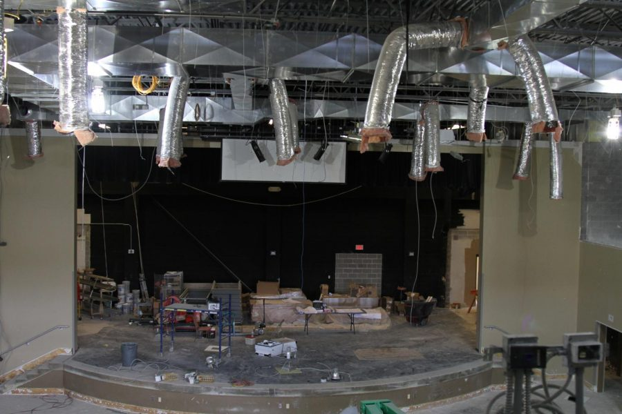 The new auditorium will have balcony seating.
