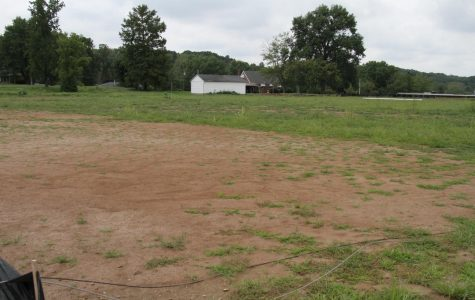 This field will be  home to the new turf softball/baseball field.