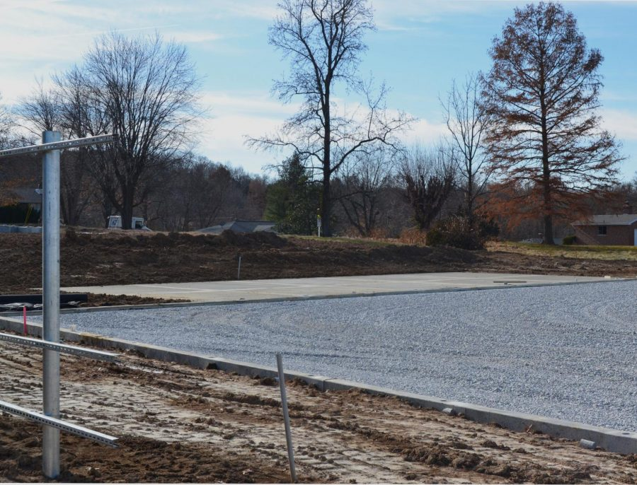 The new complex should be completed by early March.