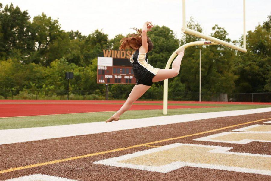 Captain+Hannah+Scott+jumping+for+joy+her+senior+year.