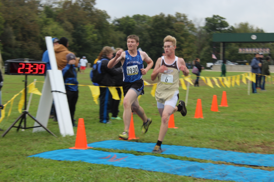 Cory Jeffers is one of the eight seniors on the cross country team.