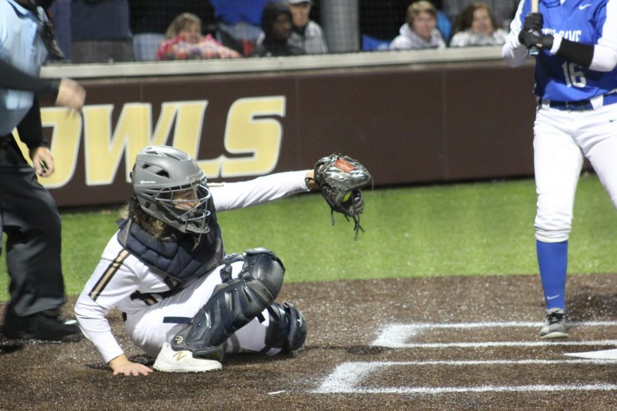 Piper Montgomery was the Owls leading hitter throughout the season.
