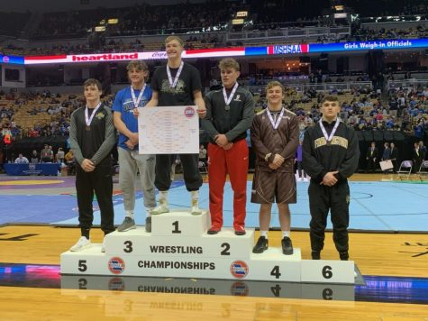 Butts Brings Home A State Medal
